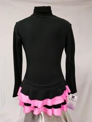 черно-розовый