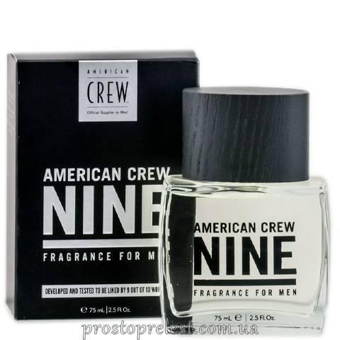 American Crew Nine Fragrance For Men - Туалетна вода