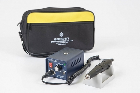 Аппарат для маникюра и педикюра STRONG 793/102L (без педали с сумкой 35 000 об/мин)