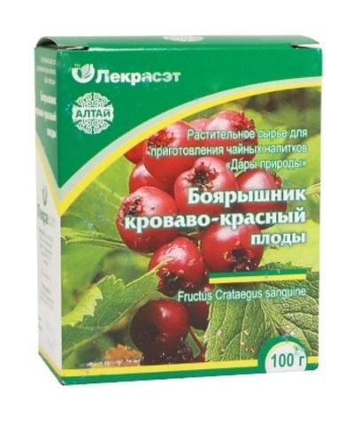 Боярышник кроваво-красный (плоды) 100 г.