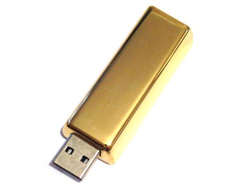 usb-флешка слиток без надписи