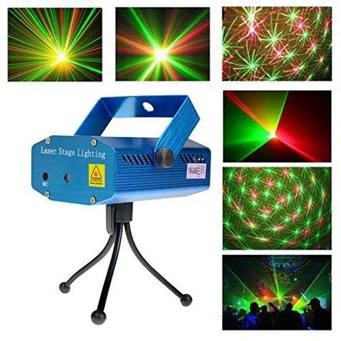 Лазерный проектор Mini Laser Stage Lighting