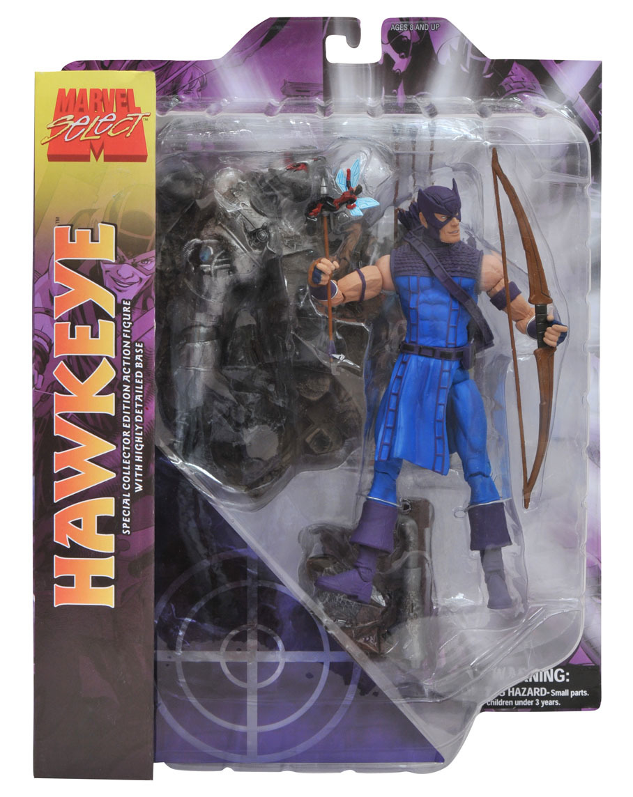 Марвел Селект фигурка Соколиный глаз эксклюзив — Marvel Select Exclusive Hawkeye