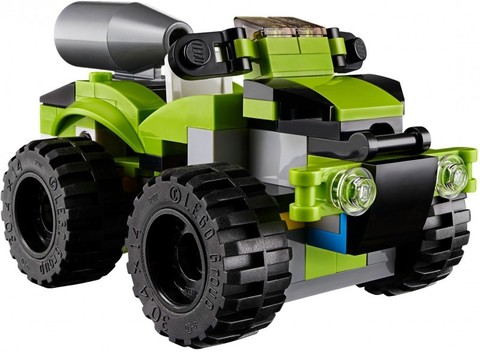 LEGO Creator: Суперскоростной раллийный автомобиль 31074 — Rocket Rally Car — Лего Креатор Создатель