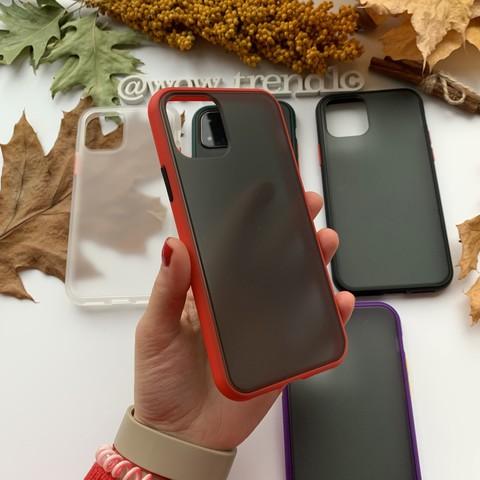 Чехол iPhone 12 /5,4''/ iPaky Cucoloris /red/