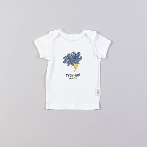 Printed T-shirt 0+, Thunder and Lightning
