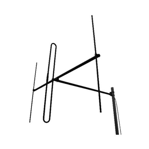 Базовая УКВ антенна для радиовещания Radial D4 FM-D