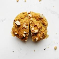 Бананово-ореховый кекс без сахара и глютена, 100 гр