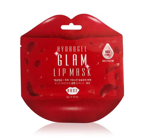 Гидрогелевая маска для губ BeauuGreen с экстрактом розы 3 гр
