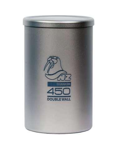 Термостакан титановый Novaya Zemlya Titanium Tea Cup 0.45 л TTC-450DW