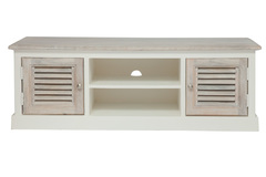 TV тумба Secret De Maison Ривьера (RIVIERA) ( mod.2141 ) — Antique white/white wash