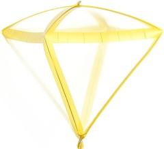 К 20''/51см Алмаз 3D , Золото грани, Прозрачный, 1 шт.