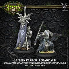 Captain Farilor & Standard Blighted Nyss Legionnaire BLI
