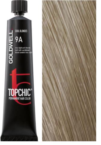 Goldwell Topchic 9A очень светло-русый пепельный TC 60ml