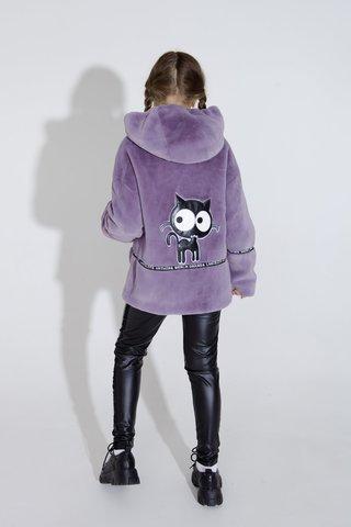 Куртка из эко меха