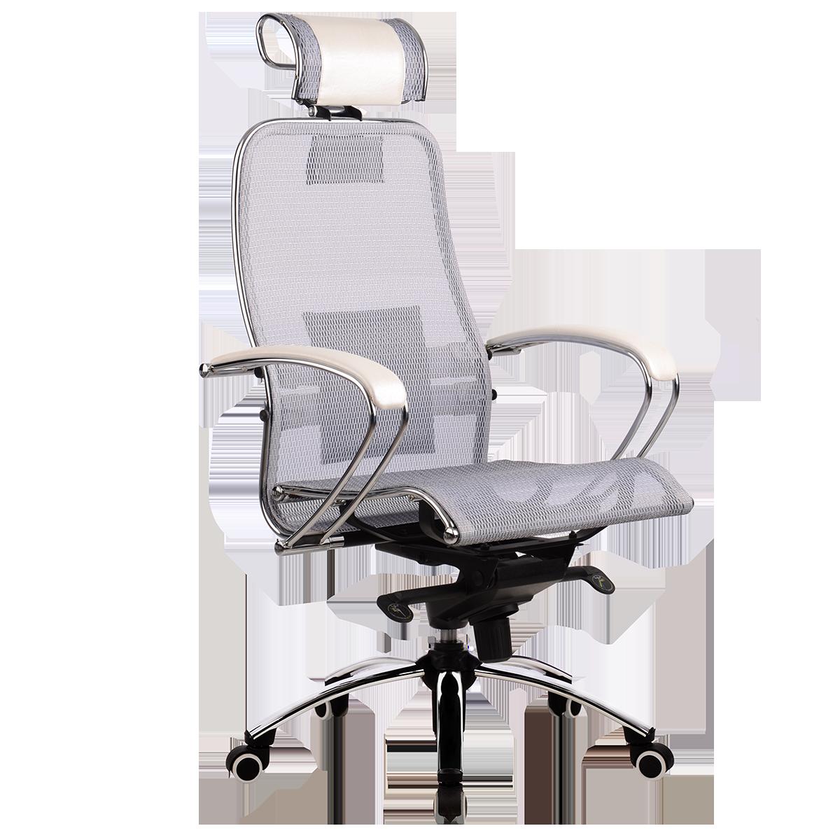 Кресло Samurai S-2 белый