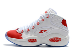 Reebok Question Mid 'White/Red'