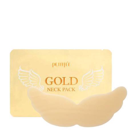 Патч для области шеи гидрогелевый PETITFEE Gold Neck Pack 10 гр 1 шт