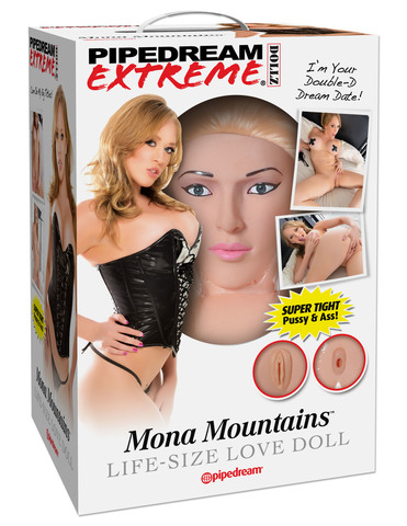 Кукла для секса Pipedream Extreme Dollz Mona Mountains Life-Size Love Doll