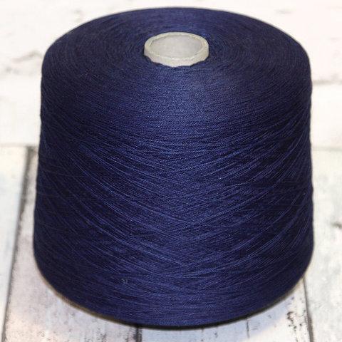 Лен с хлопком TOSCANO / BLUJEANS 16.5 темно-синий меланж