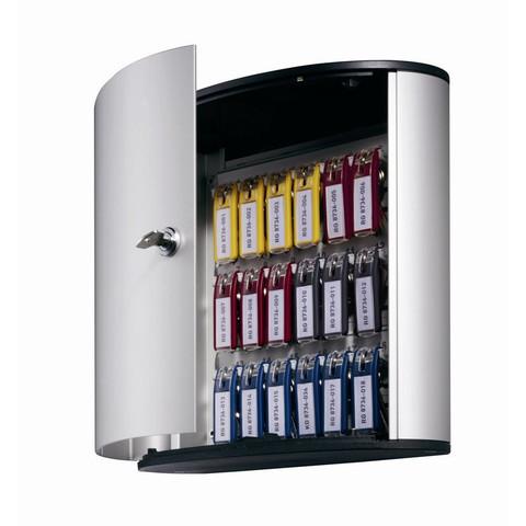 Шкаф для ключей Durable 1951-23 серый (на 18 ключей, алюминий)