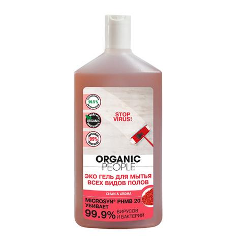 Organic PEOPLE, Эко гель для мытья всех видов полов, 500мл