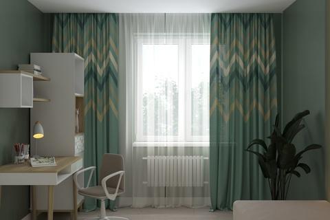 Комплект штор для детской комнаты Zig Zag