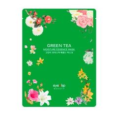 Маска для лица тканевая Eyenlip с экстрактом зелёного чая 25 мл