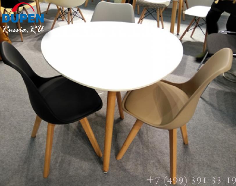 Стол обеденный SIRIO (90) WHITE (белый)