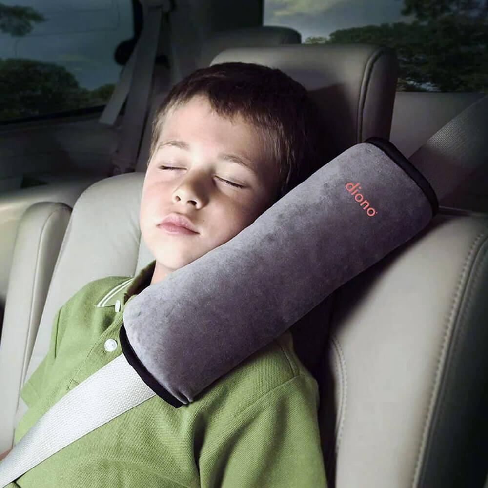 Полезные аксессуары Diono Подушка для путешествий Pillow-Grey, серый 60025.jpg