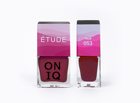 ONP-053 Лак для покрытия ногтей с эффектом акварели Triptych ETUDE: Nice