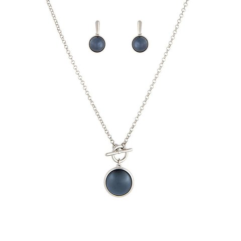 Комплект pearl black agate S1560.4 BW/S