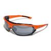 Очки солнцезащитные 2K SB-12233  (оранжевый глянец / дымчатые зеркальные + 2 доп. линзы)