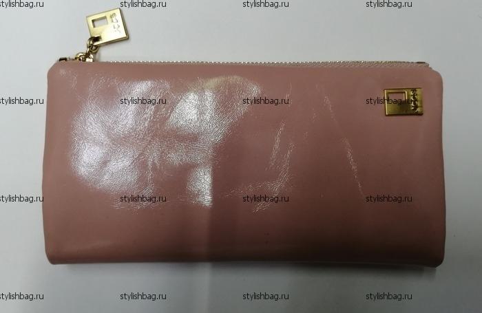 Розовый женский кошелек на магнитах JCCS j-3249