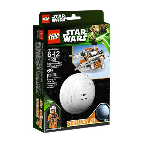 LEGO Star Wars: Снеговой спидер и Планета Хот 75009 — Snowspeeder & Hoth — Лего Звездные войны Стар Ворз