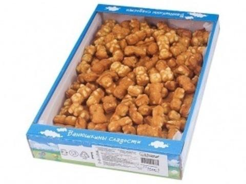 Печенье сдобное Ванюшкины сладости Медвежьи сгущенка 1,5кг