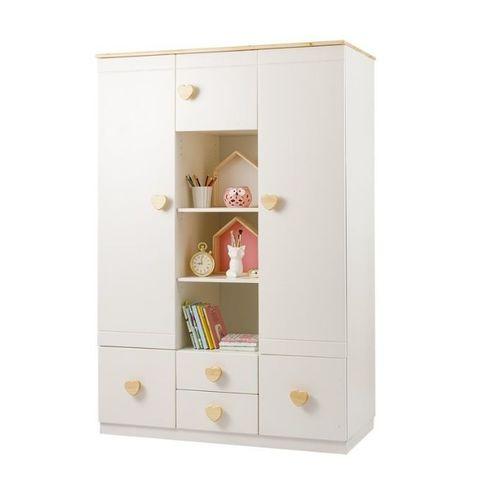 Детский шкаф для одежды 3-створчатый Кидс №1