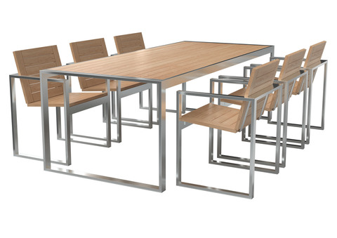 Стул и стол обеденный ПАТИО
