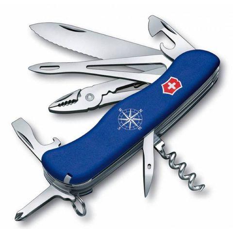 Нож перочинный Victorinox Skipper (0.9093.2W) 111мм 17функций синий