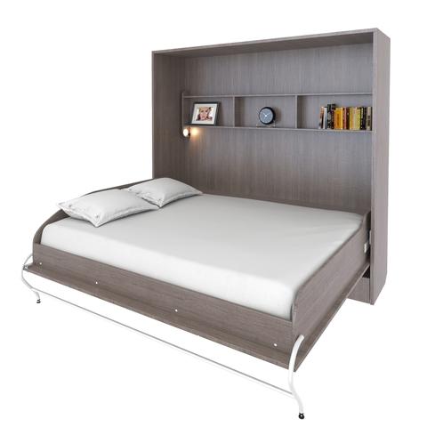 Шкаф-кровать горизонтальная двуспальная 160 см queen size
