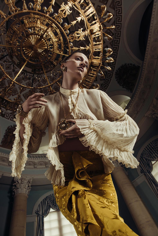 Кулон Chanel с искусственным жемчугом