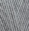 Пряжа Alize LANAGOLD 21  (Серый меланж)