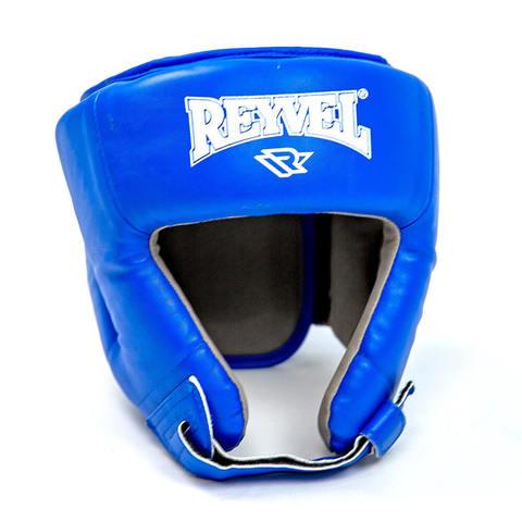 Шлем для боевого самбо RV-302 Reyvel синий