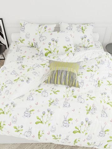 Простынь  -Кролики- 150х215 см 1,5-спальная
