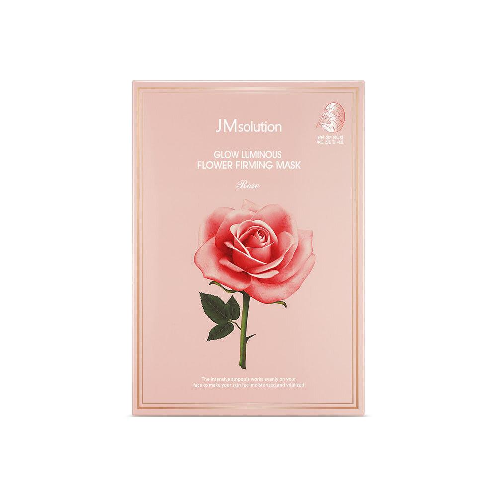 Набор укрепляющих масок с розовой водой и цветочными экстрактами GLOW LUMINOUS FLOWER FIRMING MASK ROSE