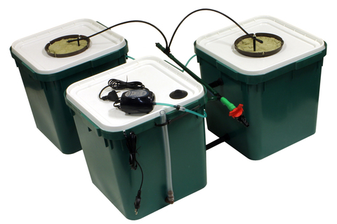 CubePot  TRIO на 2 растения.