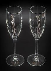 Подарочный набор бокалов для шампанского «Бриллиантовый», фото 3