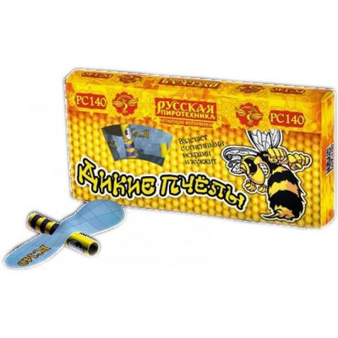 Летающий фейерверк РС1400 Дикие пчелы