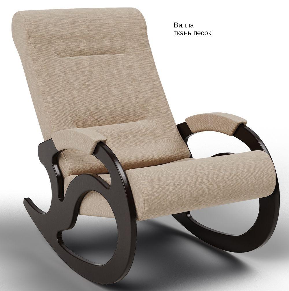 Кресла качалки Кресло-качалка Вилла Ткань ВИЛЛА_песок.jpg