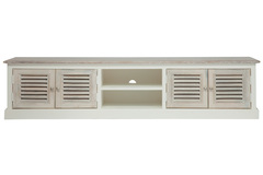 TV тумба Secret De Maison Ривьера (RIVIERA) ( mod.2320 ) — Antique white/white wash